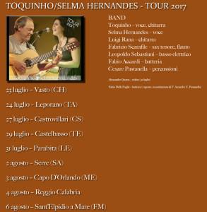 Toquinho TOUR 2017