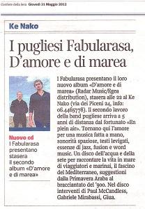 Corriere della Sera 31.05.12