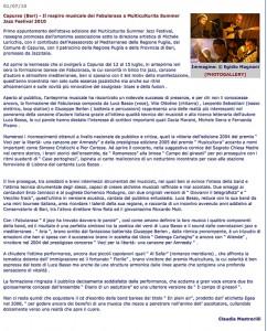 Puglialive 01.07.10