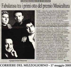 Corriere 17.05.05