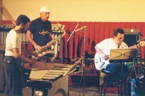 Con Claudio Fasoli e Saverio Tasca