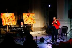 Con Francesco Palazzo - S. Teresa Dei Maschi 15/12/10