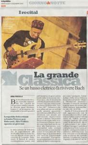Recensione su La Repubblica del 15.12.10
