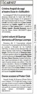 Gazzetta 02.11.06